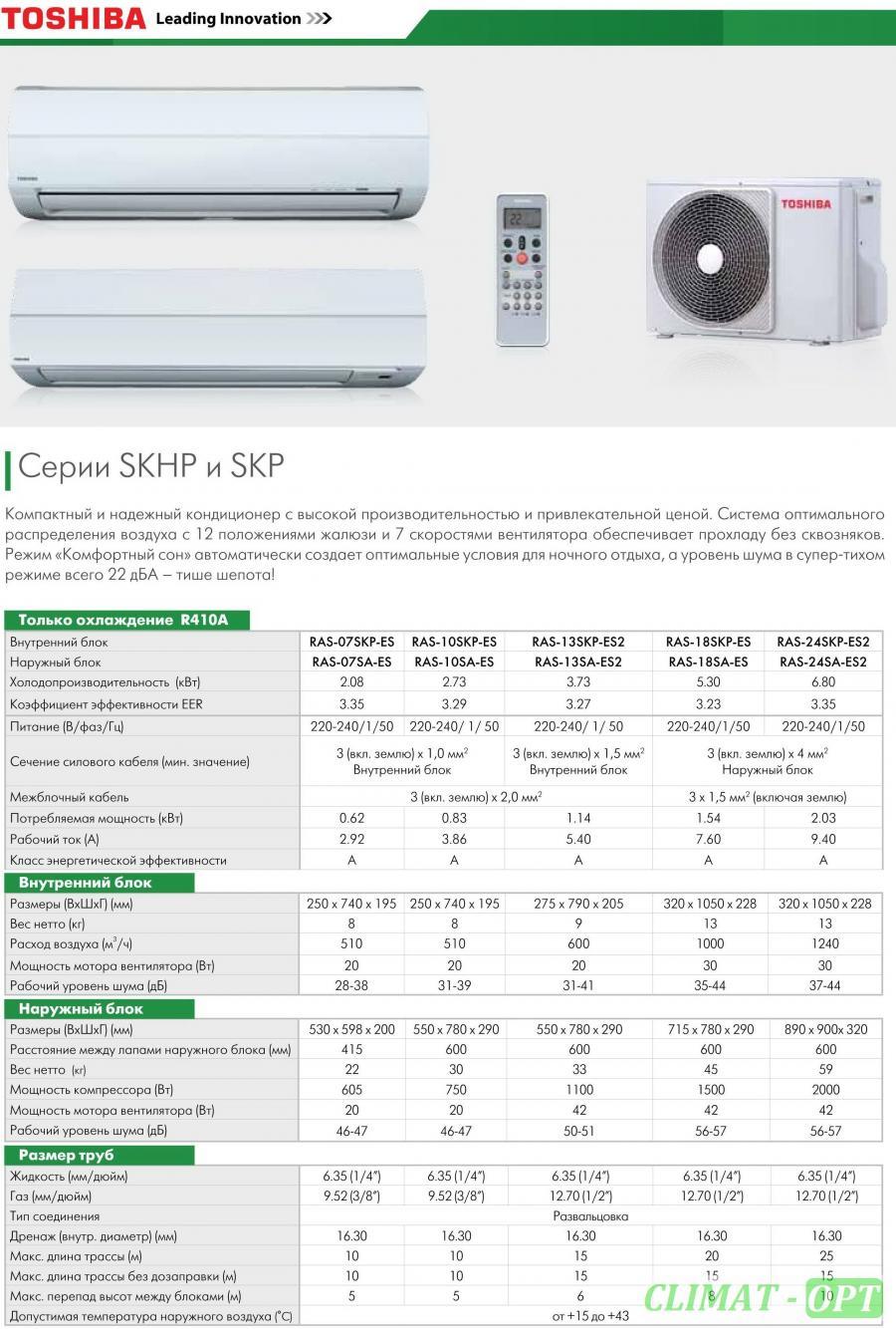 Toshiba SKHP-ES R410 (Звоните, Скидки!)