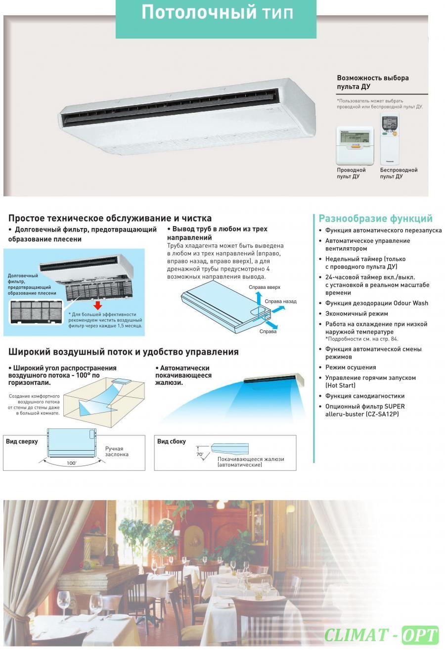 Потолочный кондиционер Panasonic FS